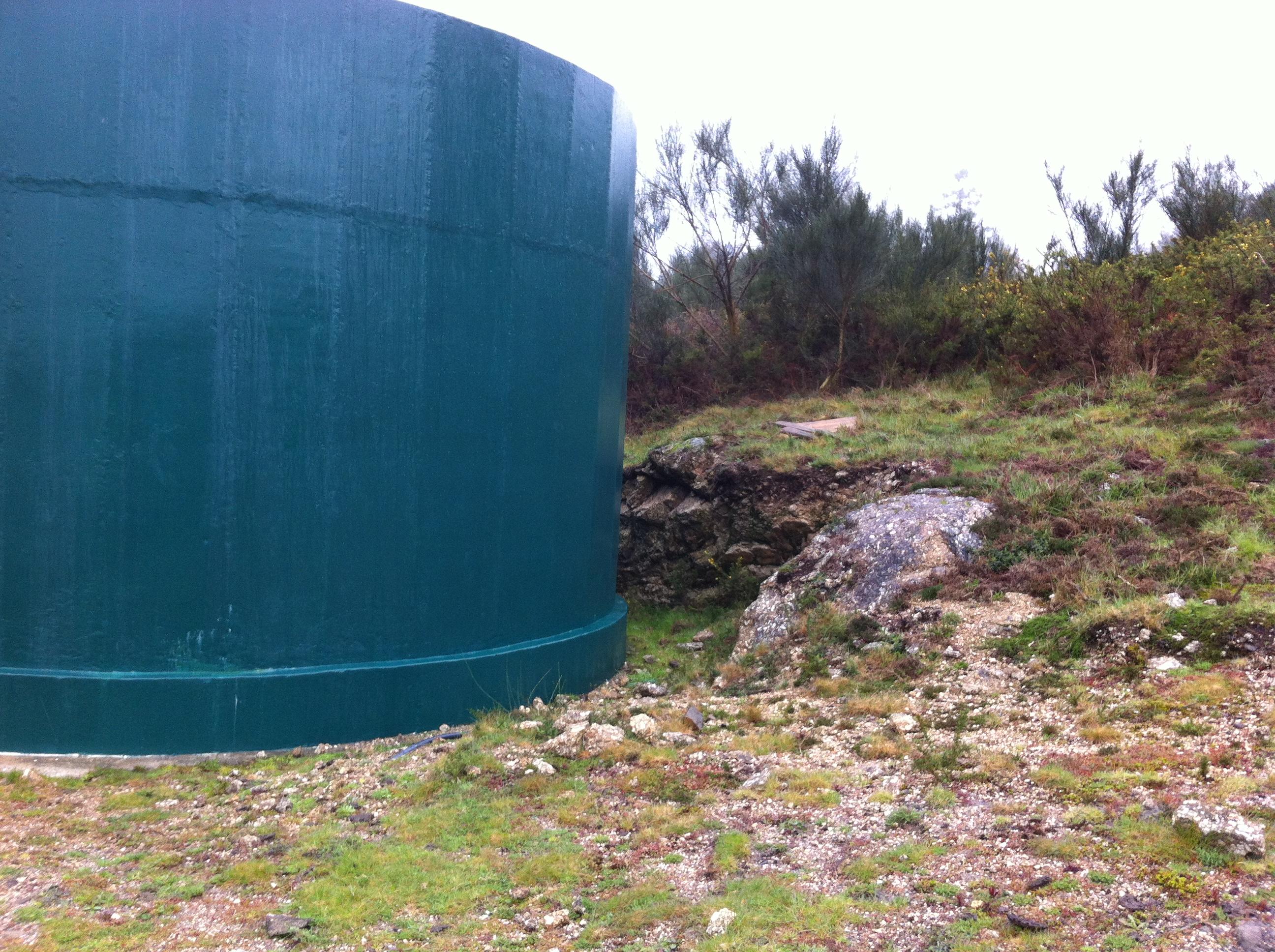 Perimetros de protecção de captações de água