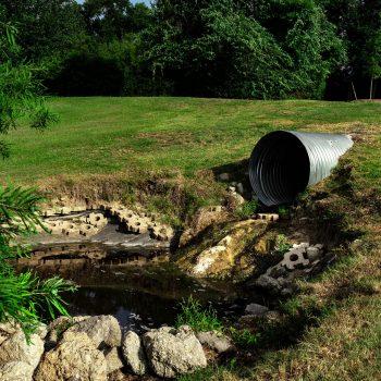 Contaminação água superficial